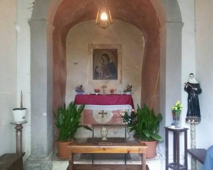 Sottoscrizione per il rifacimento  del tetto della cappella di Cibona