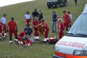 Croce rossa, a Fiumicino prove d'emergenza