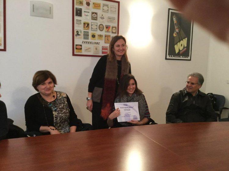 Liceo Galilei: Sara Yamani premiata dalla Fondazione Molinari