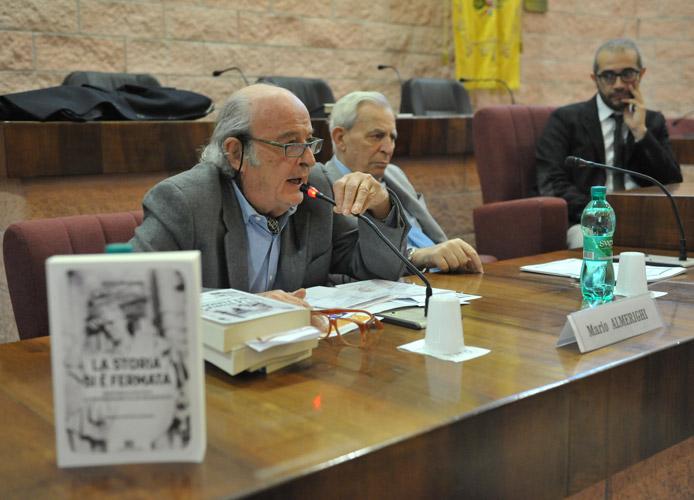 """Il magistrato Almerighi al Pincio presenta il suo nuovo libro, """"La storia si è fermata"""""""