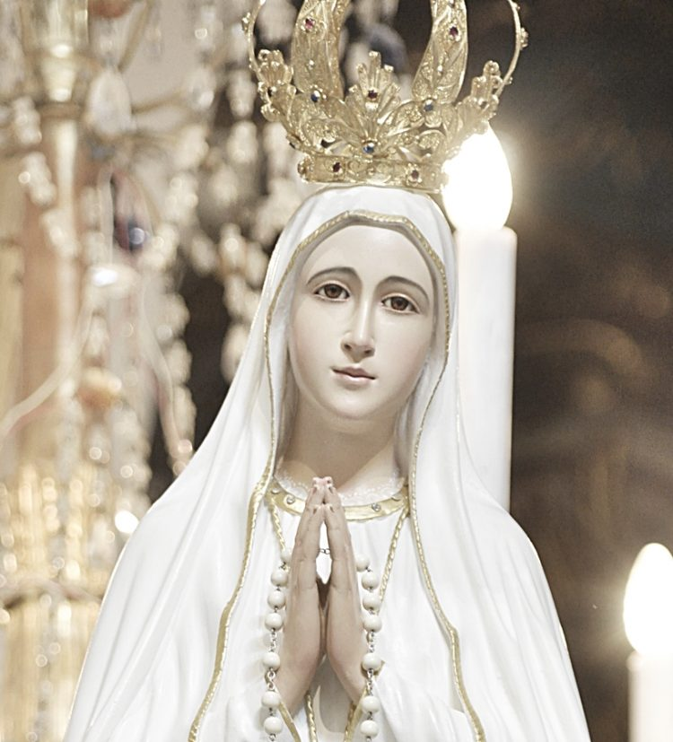 La Madonna di Fatima  da oggi ad Aranova