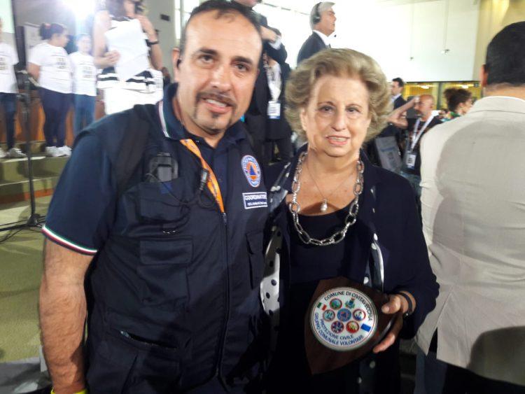 """""""Nave della legalità"""": a bordo anche i volontari della Protezione Civile di Civitavecchia"""