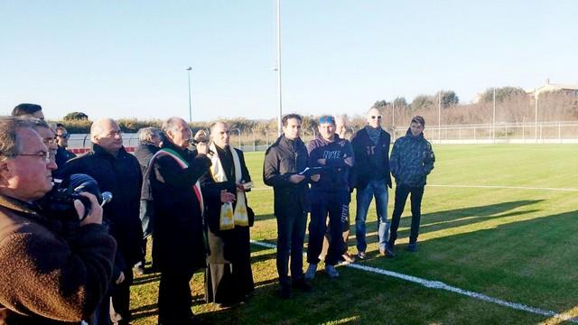 Ladispoli: inaugurato il nuovo stadio