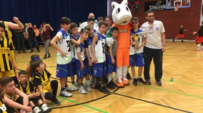 Wien Basketball, i ragazzi dell'Alfa Omega e dei Boys Fiumicino vicecampioni d'Europa