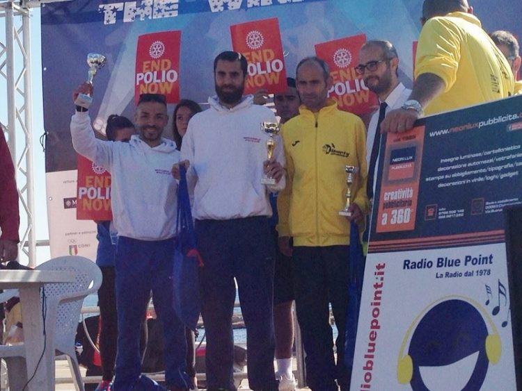 Smac,entusiasmante doppietta  alla Maratona del Mediterraneo