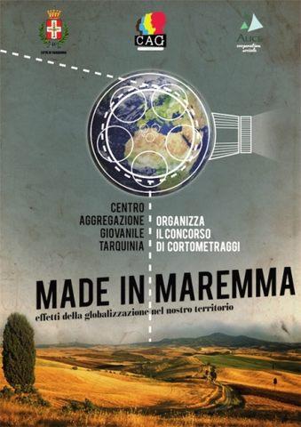 """""""Made in Maremma"""". Concorso di cortometraggi sulla globalizzazione"""