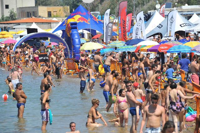 Weekend bollente col Surf Expo