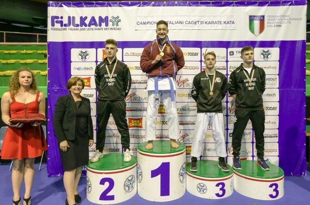 Mirko Barreca è campione d'Italia