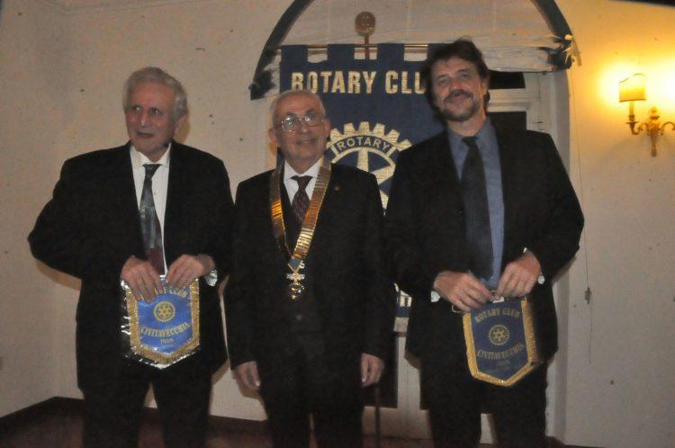 Flavio Enei incanta il Rotary Club
