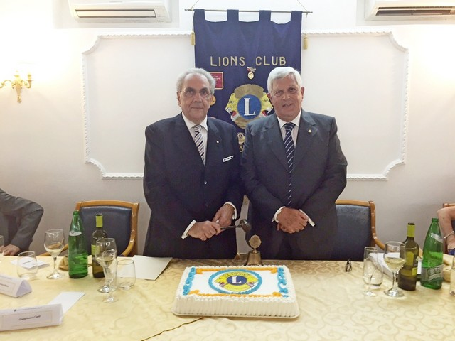 Lions Club CIvitavecchia Porto Traiano, Gianfranco Ciatti nuovo presidente
