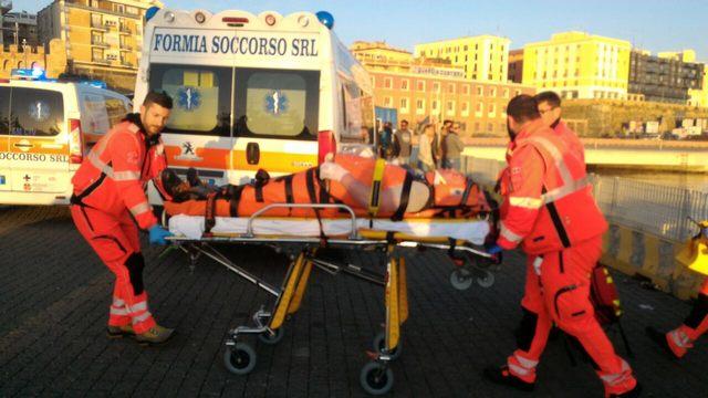 Emergenza medica a bordo di una nave da crociera