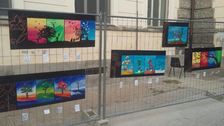 Mostra pittorica ''La Ferratina'' nel  cortile della scuola
