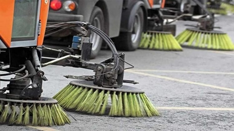 Ridotto lo spazzamento delle strade
