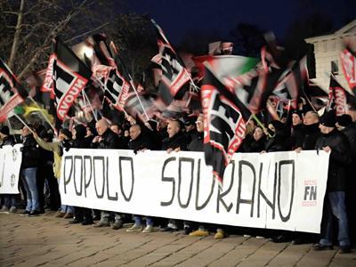 """Questura vieta marcia su Roma. Forza Nuova: """"Noi in piazza"""""""