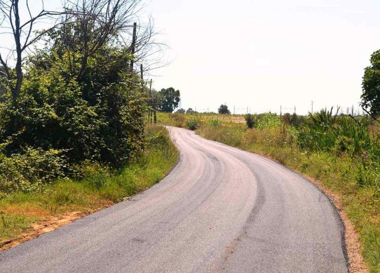 Asfaltata la strada Cunicchio-Olivastro