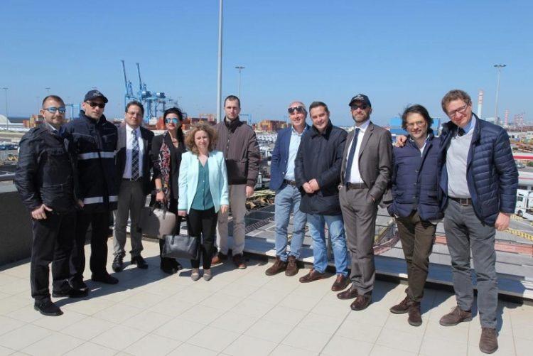Delegazioni estere in visita alla Dogane di Civitavecchia