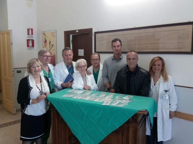 Ospedale di Tarquinia, l'associazione Spazio Libero dona un set di ferri chirurgici all'ambulatorio ortopedico