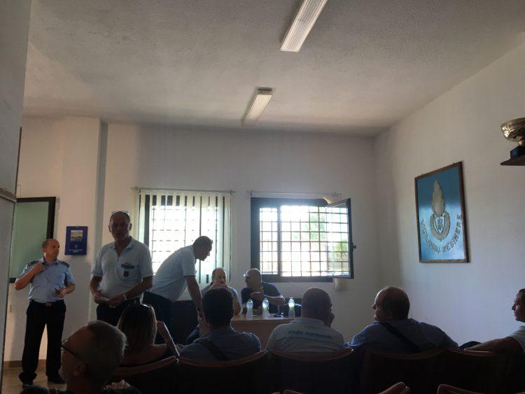 I vertici Fns Cisl in visita al carcere di Aurelia