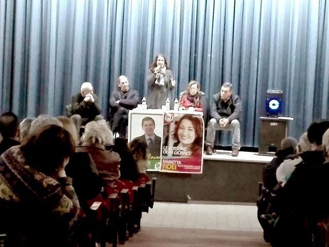 Marietta Tidei: ''Solo con la conferma di Zingaretti sarà possibile portare risorse al comprensorio''