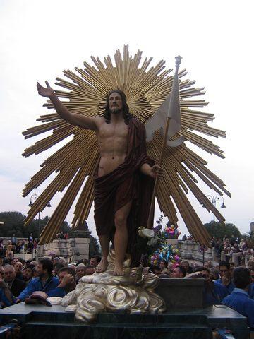 ''Successo per la diretta streaming della processione del Cristo Risorto''