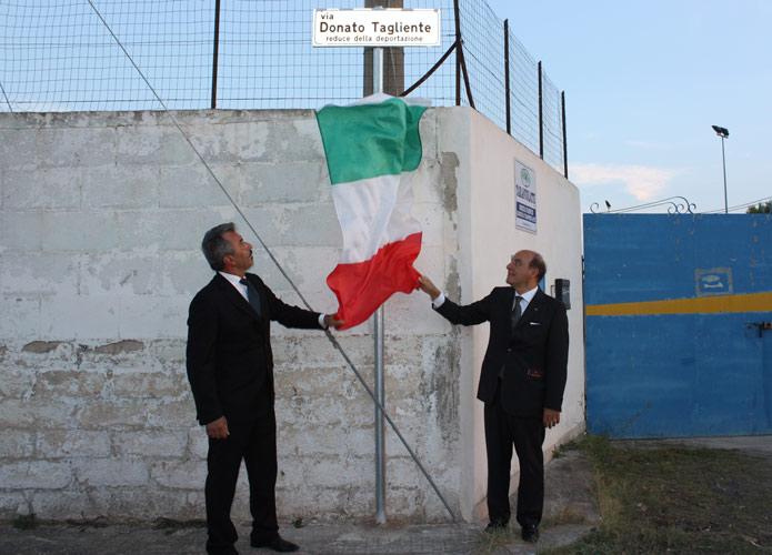 Medaglia d'onore a Donato Tagliente