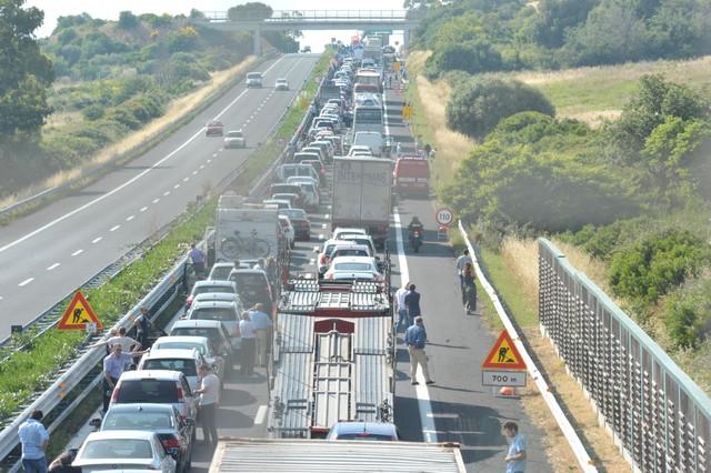 A12, incidente tra Civitavecchia sud e Santa Marinella