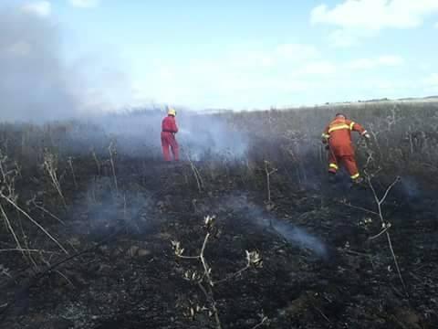 Incendio in località Fornacelle
