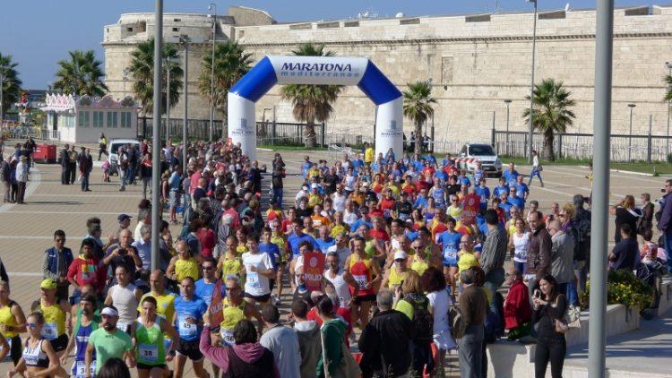 La Maratona del Mediterraneo entusiasma Civitavecchia