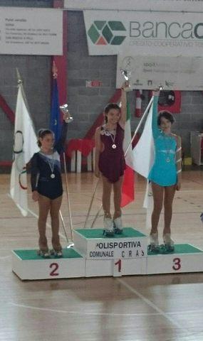 Elena Lucernoni chiude terza al trofeo Libertas