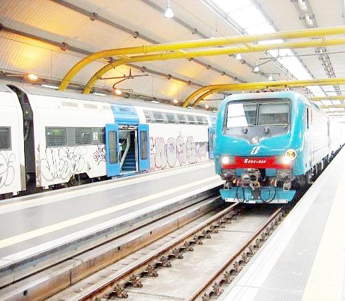 Roma-Fiumicino, barriere antirumore sulla ferrovia