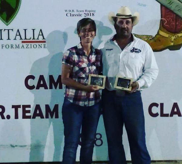 Tiselli e Barletta vincono il Ranch Roping