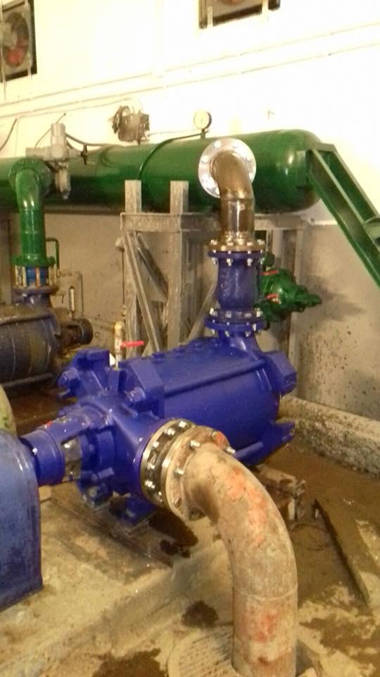Idrico, installata la prima delle pompe fornite dall'Enel