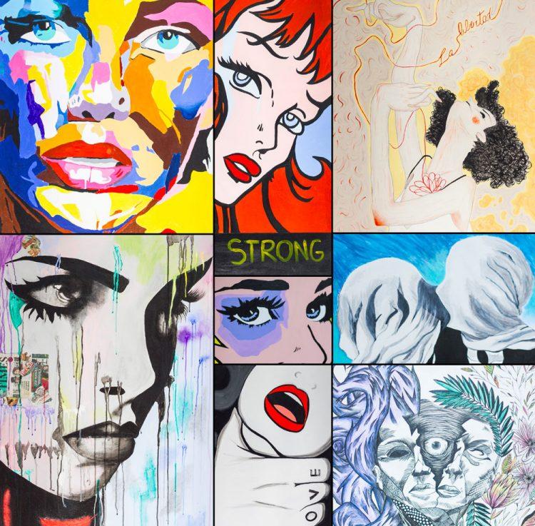 ''Possiamo dipingere contro: opere di denuncia sociale''