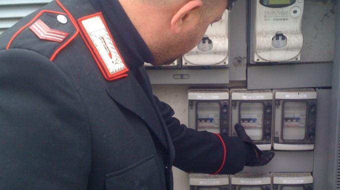 Furto di energia elettrica: cinque arresti