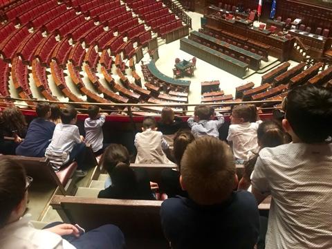 Scuola primaria ospite alla Camera dei deputati