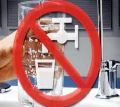 Acqua non potabile a Campo dell'Oro e San Gordiano