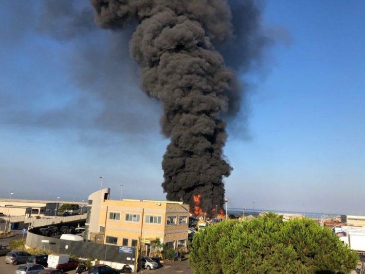 Incendio Bertini: nessun danno ambientale per Arpa
