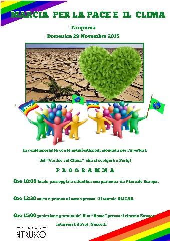 Marcia per il clima, manifestazione anche a Tarquinia domenica