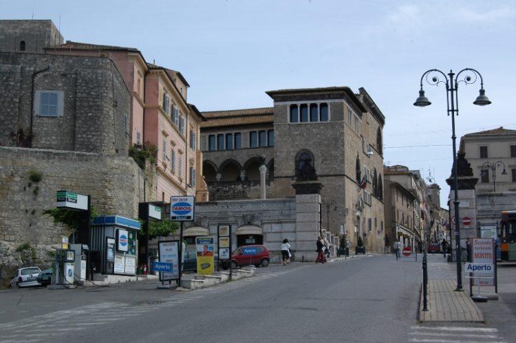 Tarquinilandia, modifica alla viabilità del centro storico