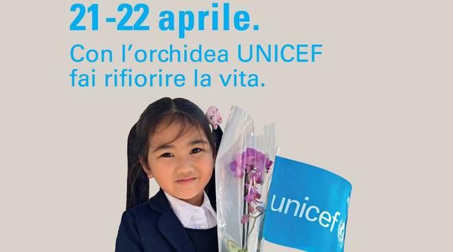 Torna nella piazze italiane l'Orchidea Unicef
