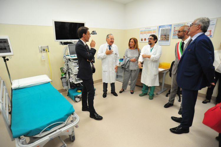 San Paolo, taglio del nastro per Endoscopia e Fisioterapia
