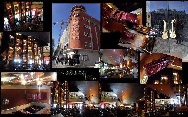 Hard Rock Cafè Lisbona (foto Pina Irato)