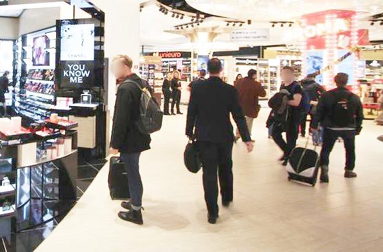 Ladri fermati in aeroporto