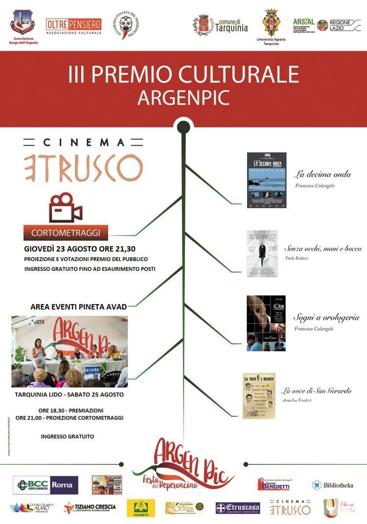 Tarquinia, il Grande Cinema dei Cortometraggi approda all'Etrusco e nell'Area Eventi Pineta Avad del Lido