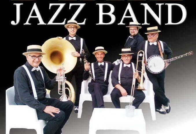 La Zambra Dixie Jazz Band suona alla Necropoli
