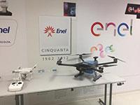 Enel, in centrale arrivano i droni