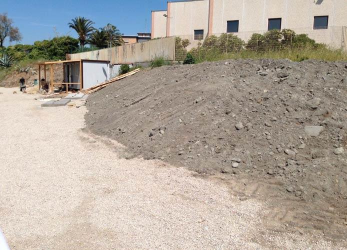 Abbandono di rifiuti: sequestrata un'area alla Buca di Nerone