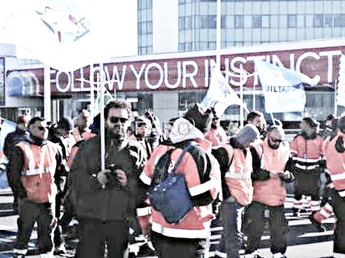 Aeroporto, guerra tra sindacati