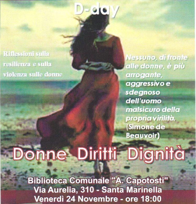 Giornata nazionale contro la violenza sulle donne: anche Santa Marinella presente