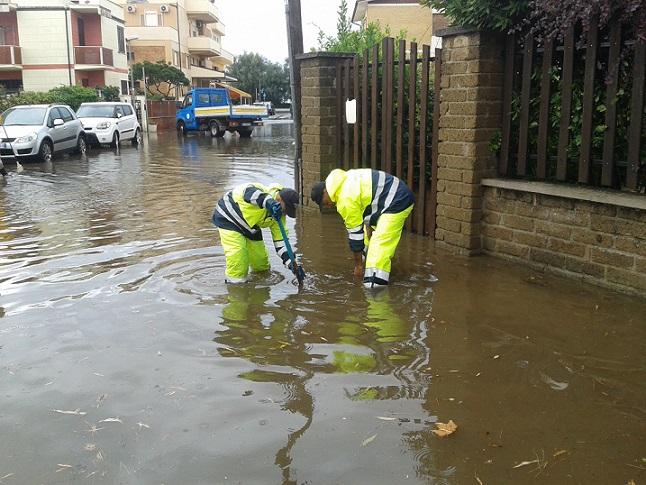 Rischio alluvione: simulazione di Protezione civile